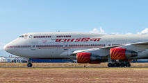 Air India B744 visited San Jose with Vicepresident onboard title=