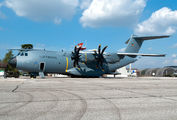 Rare visit of German Air Force Airbus A400M to Verona  title=