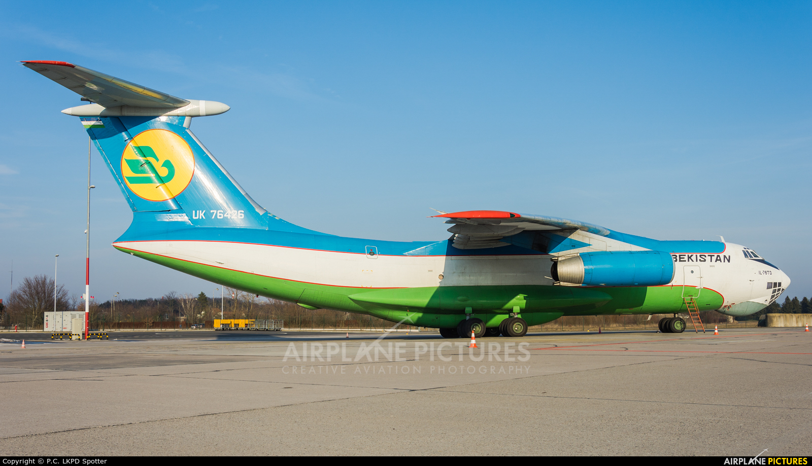 Uzbekistan Air Force UK-76426 aircraft at Pardubice
