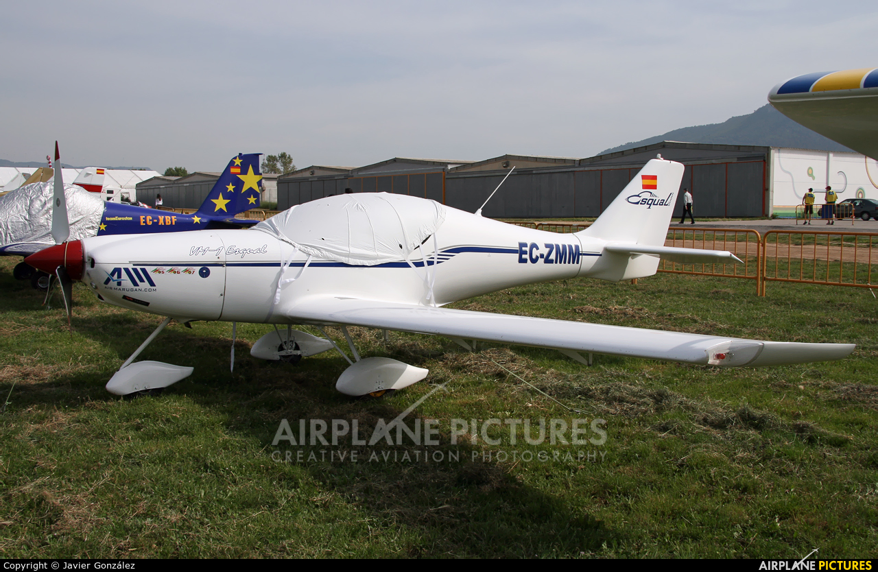 Private EC-ZMM aircraft at Igualada - Odena