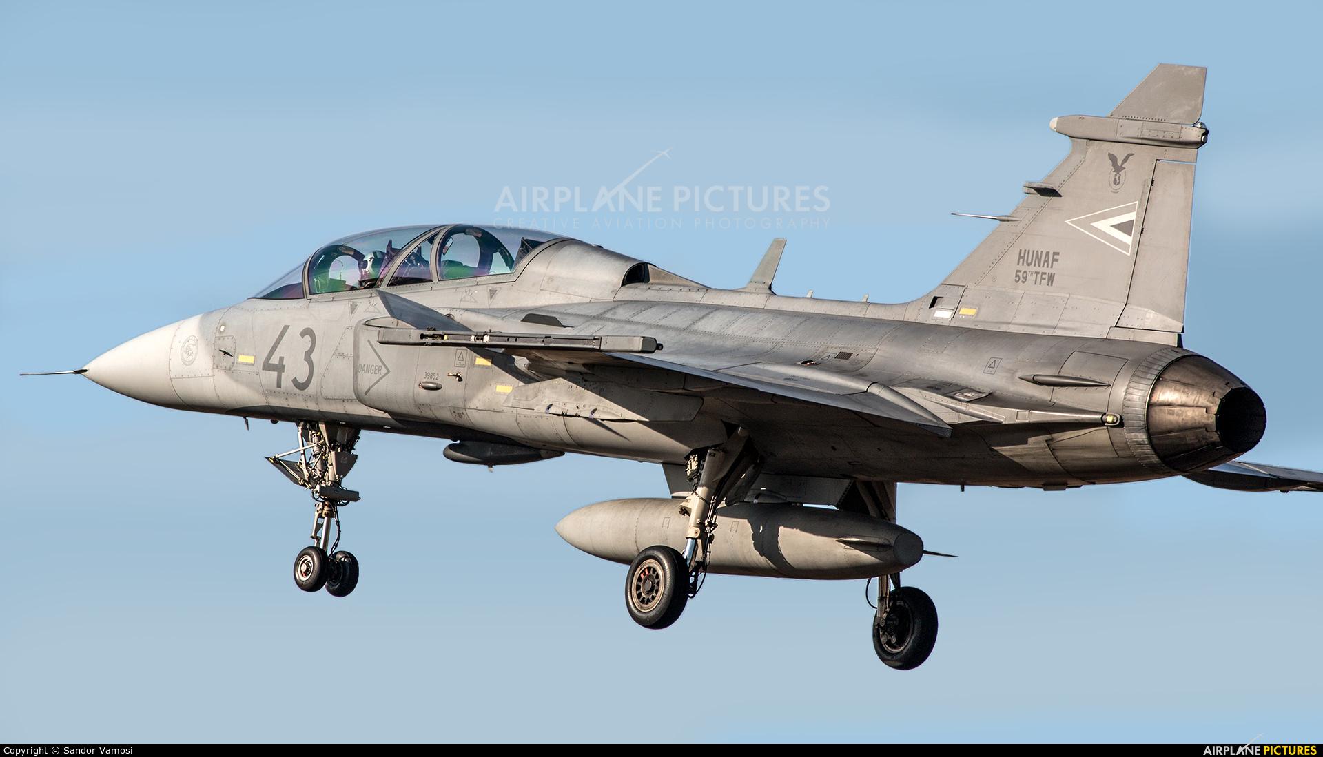 Hungary - Air Force 43 aircraft at Kecskemét