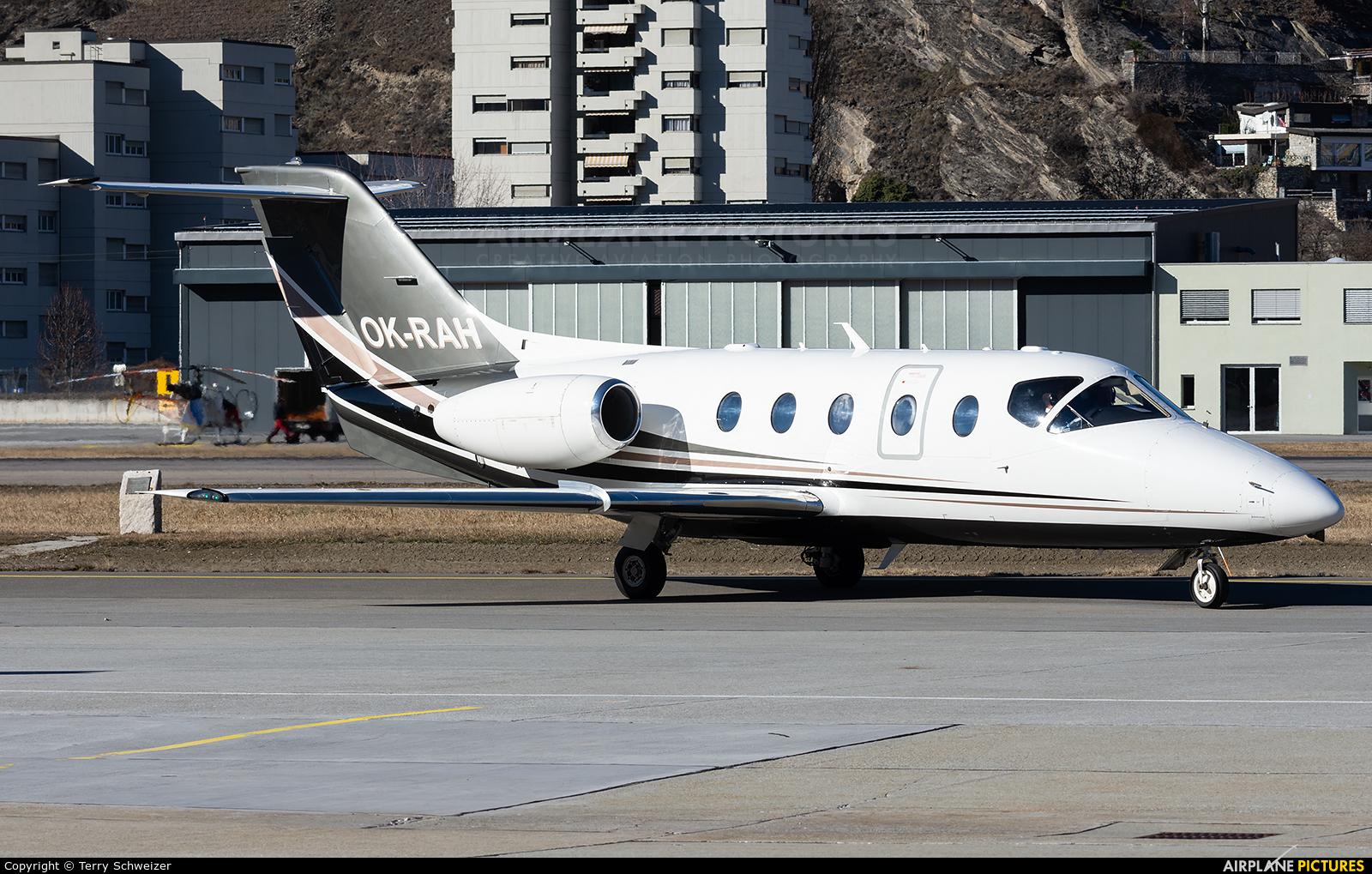 Time Air  OK-RAH aircraft at Sion