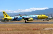 """Spirit Airlines Airbus A321 wears """"Dumbo"""" movie special livery title="""