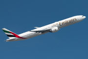 A6-EGA - Emirates Airlines Boeing 777-300ER aircraft