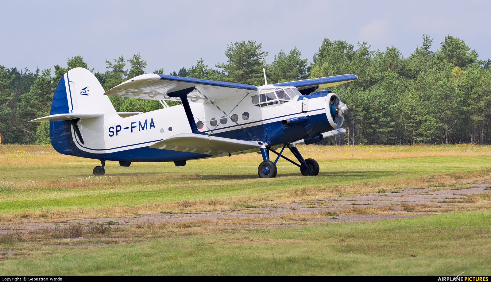 Aeroklub Bydgoski SP-FMA aircraft at Borne Sulinowo