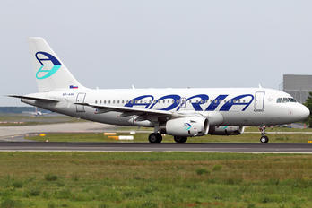 S5-AAR - Adria Airways Airbus A319