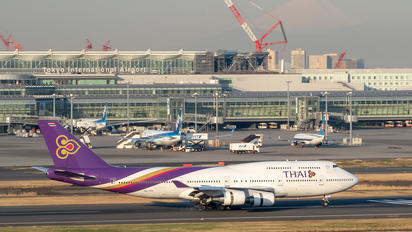 HS-TGX - Thai Airways Boeing 747-400ER