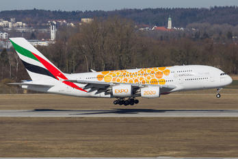 A6-EEA - Emirates Airlines Airbus A380