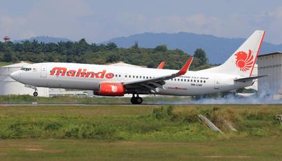 9M-LNR - Malindo Air Boeing 737-800