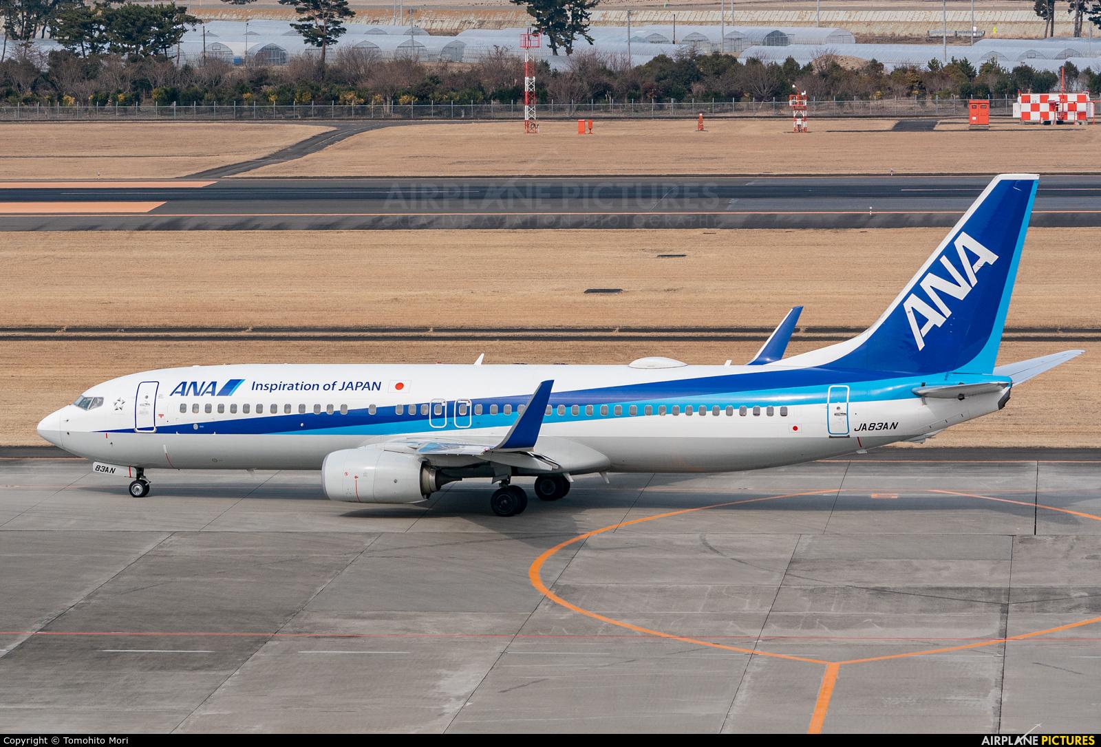 ANA - All Nippon Airways JA83AN aircraft at Sendai