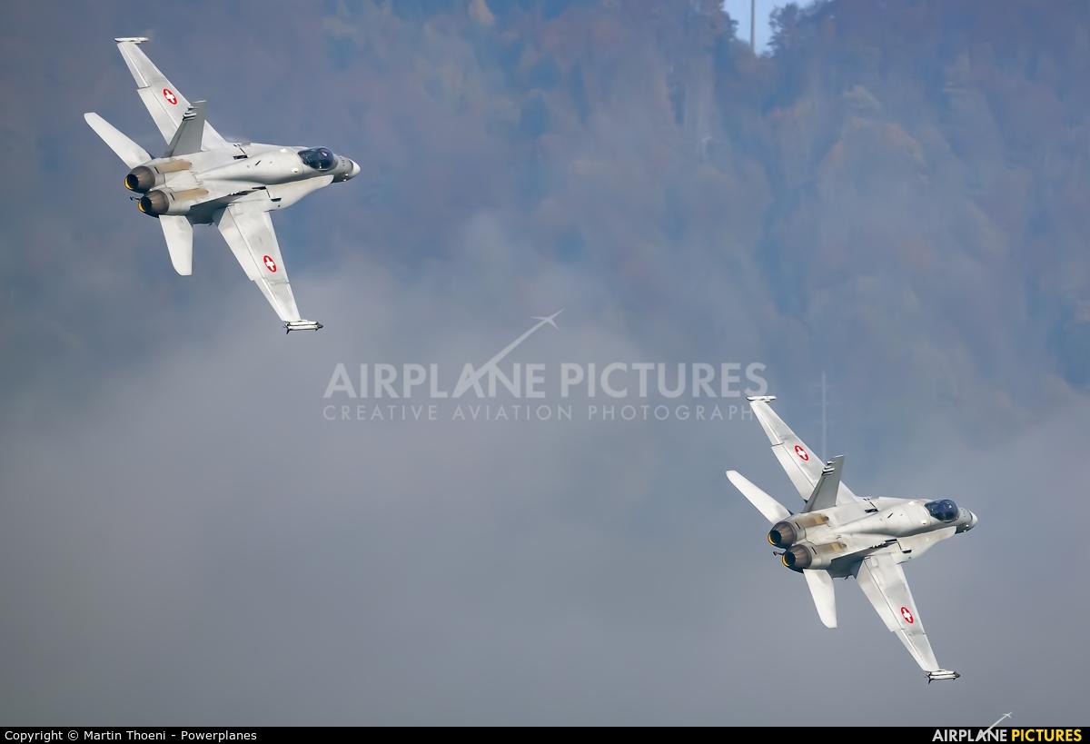 Switzerland - Air Force J-5013 aircraft at Alpnach