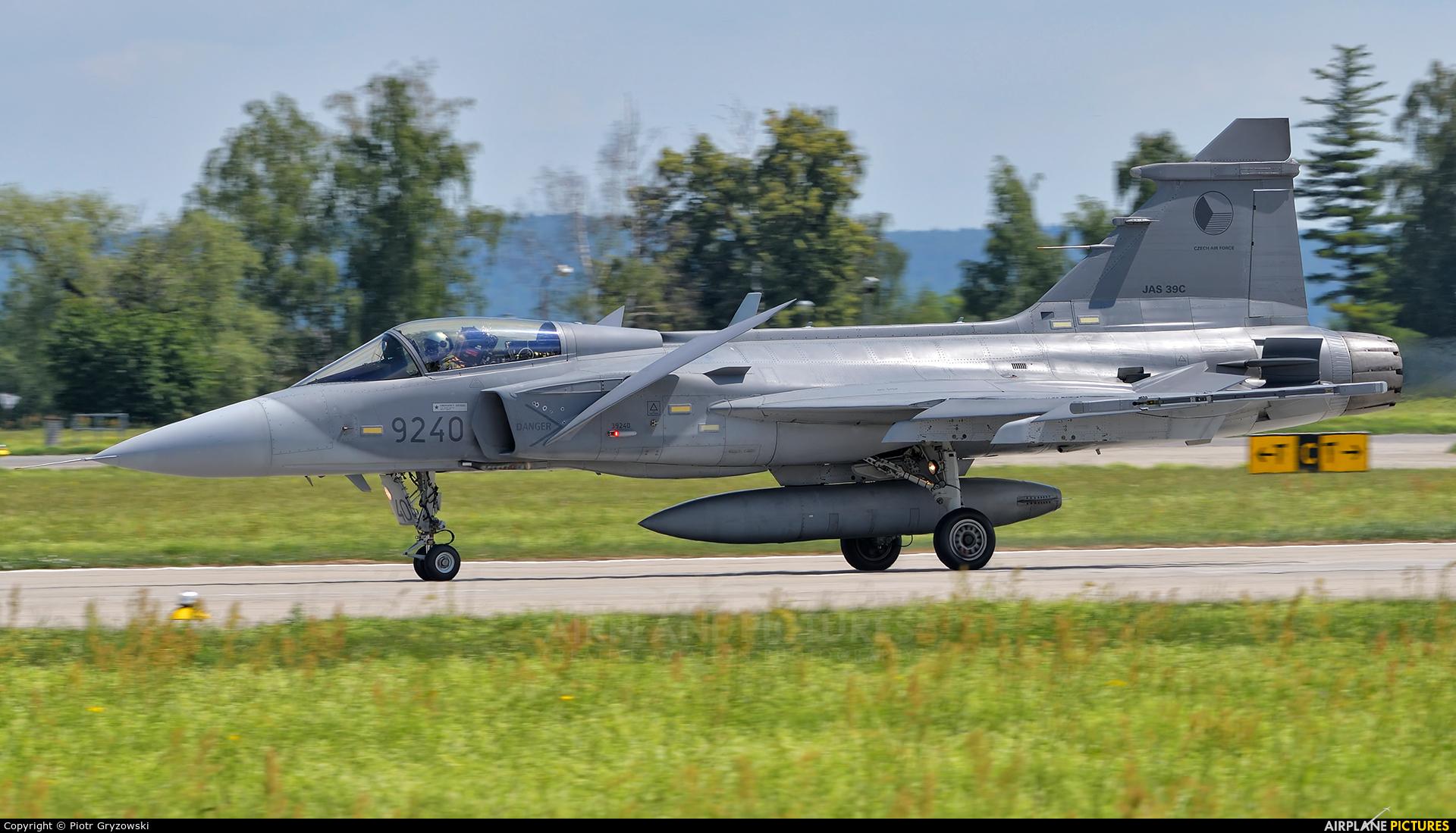 Czech - Air Force 9240 aircraft at Čáslav