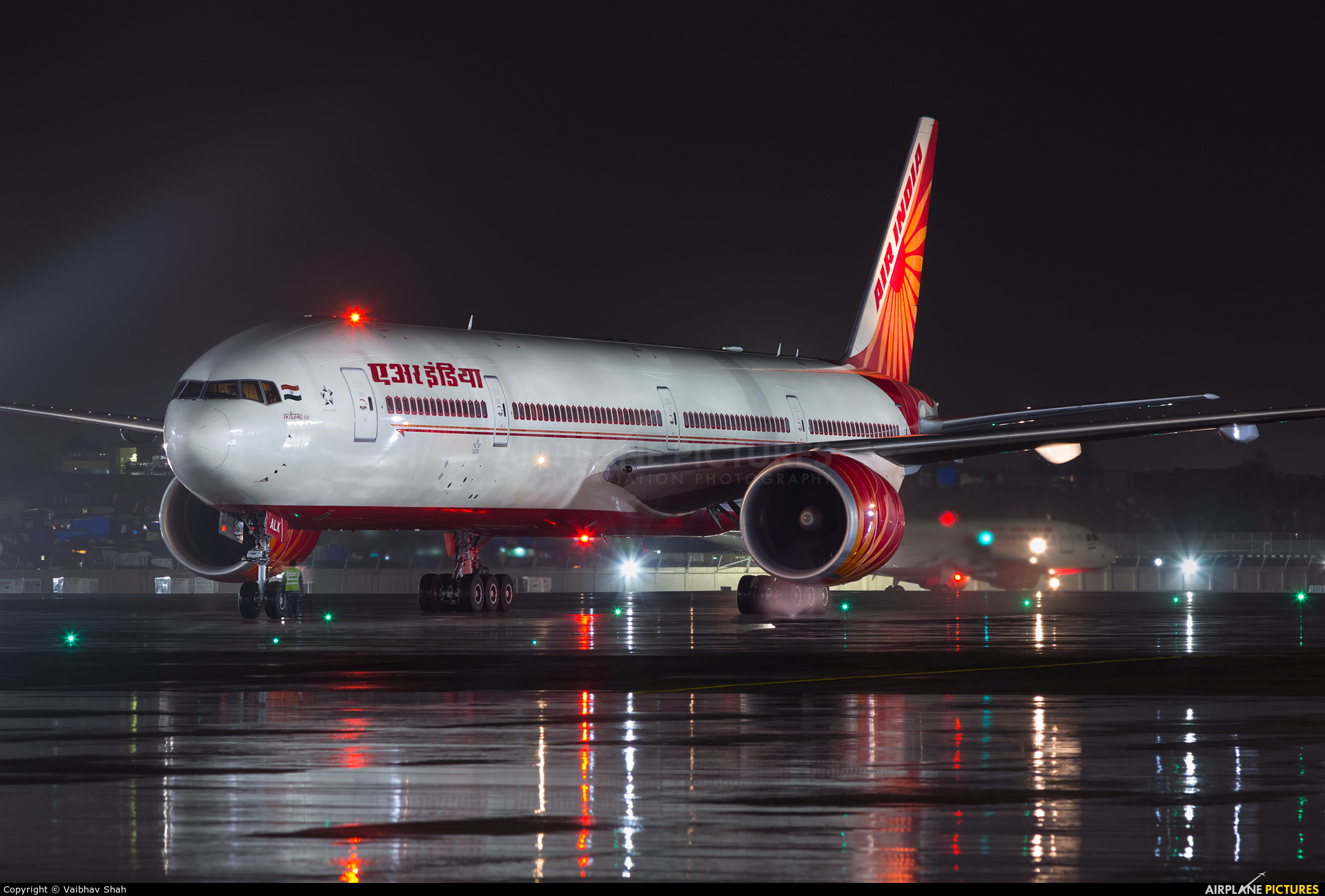 Air India VT-ALK aircraft at Mumbai - Chhatrapati Shivaji Intl