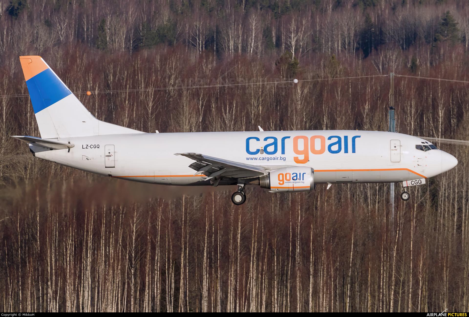 Cargo Air LZ-CGQ aircraft at Helsinki - Vantaa