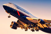 G-BNLY - British Airways Boeing 747-400 aircraft