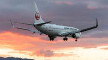 JA346J - JAL - Japan Airlines Boeing 737-800 aircraft