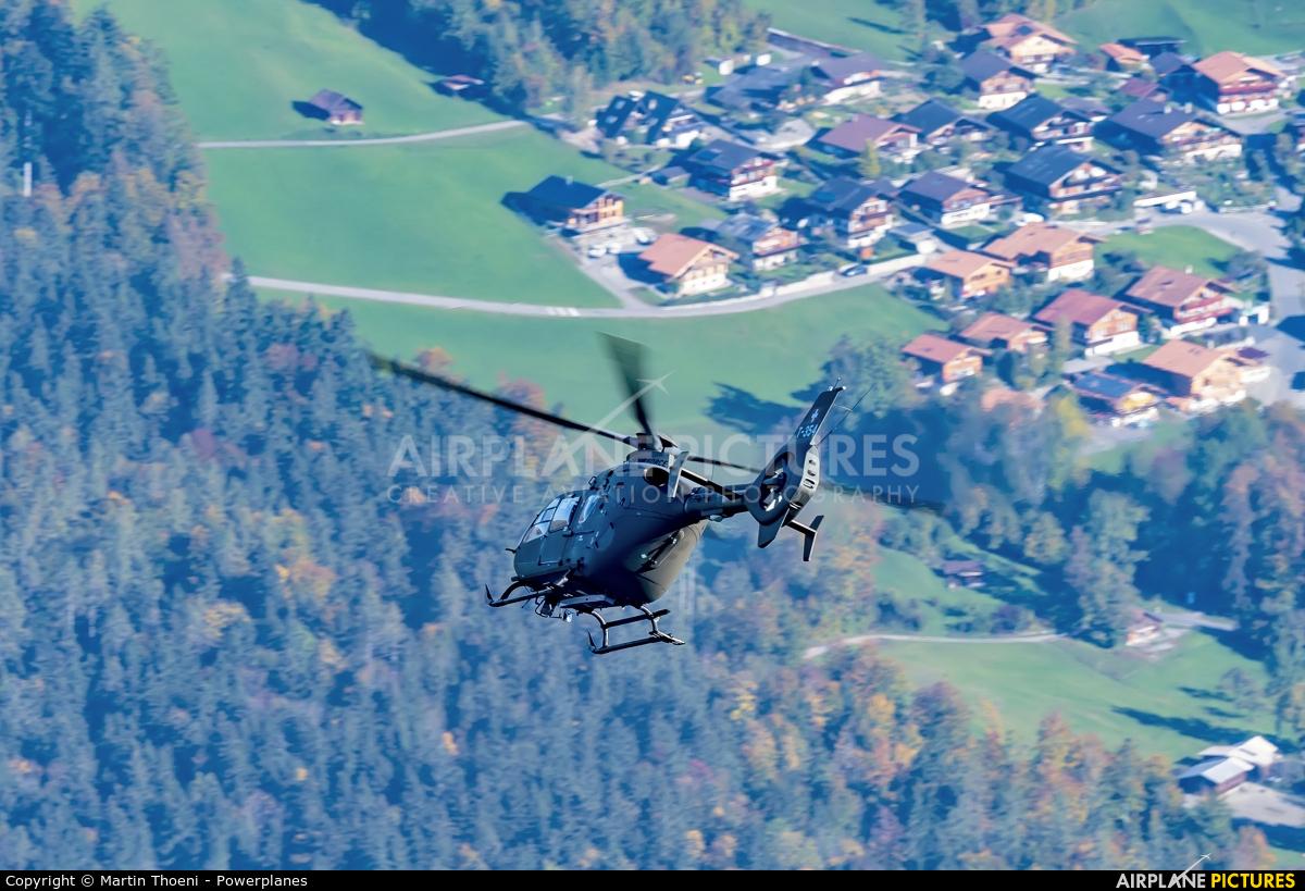 Switzerland - Air Force T-354 aircraft at Axalp - Ebenfluh Range