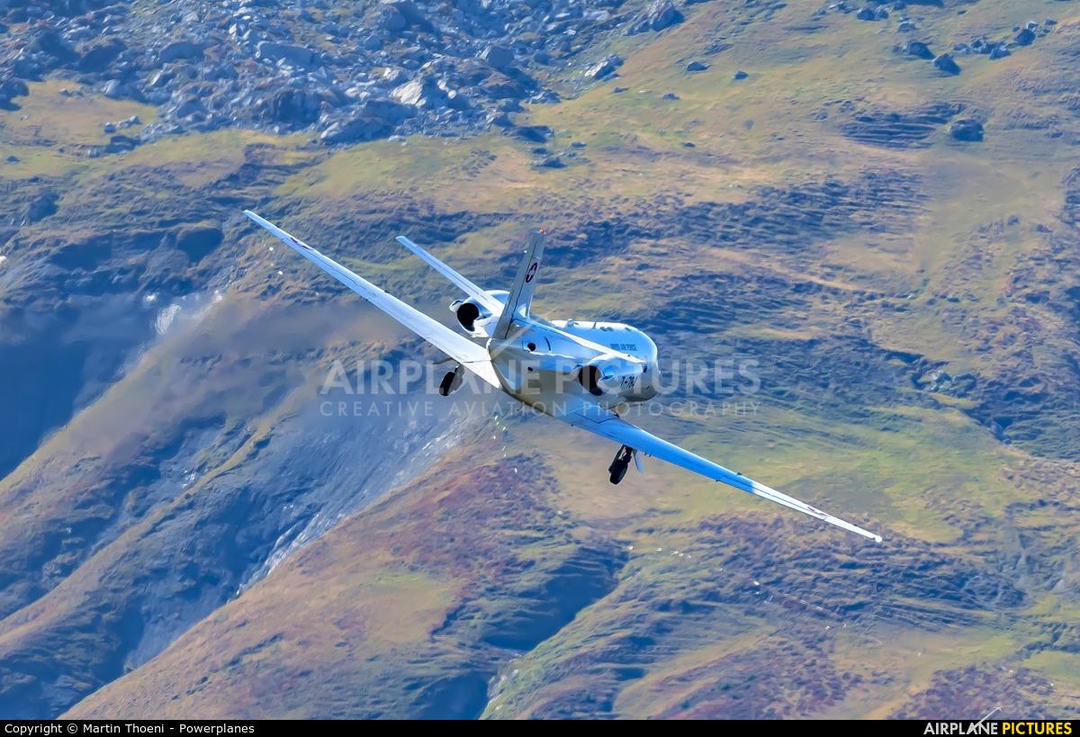 Switzerland - Air Force T-784 aircraft at Axalp - Ebenfluh Range