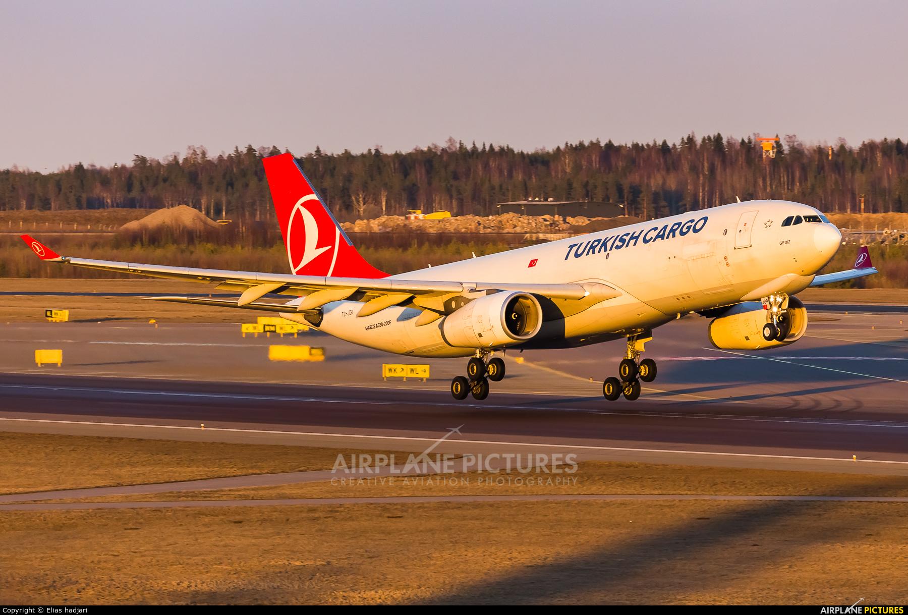Turkish Cargo TC-JDR aircraft at Helsinki - Vantaa