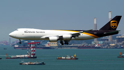 N610UP - UPS - United Parcel Service Boeing 747-8F