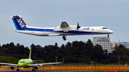 JA464A - ANA Wings Bombardier Dash DHC-8-300