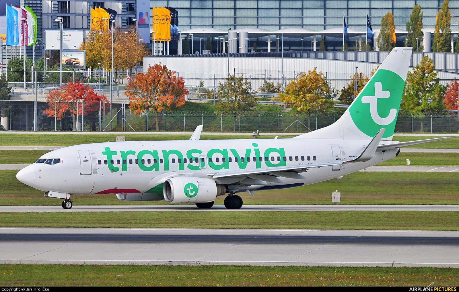 Transavia PH-XRV aircraft at Munich