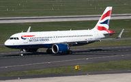 G-TTNI - British Airways Airbus A320 NEO aircraft