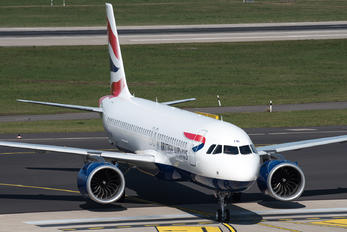 G-TTNI - British Airways Airbus A320 NEO