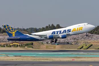 N489MC - Atlas Air Boeing 747-400F, ERF