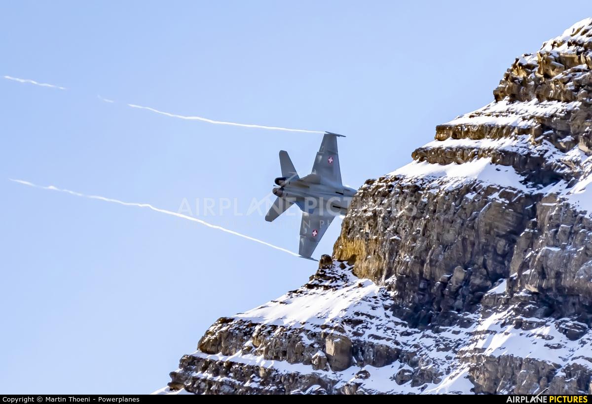 Switzerland - Air Force J-50** aircraft at Axalp - Ebenfluh Range