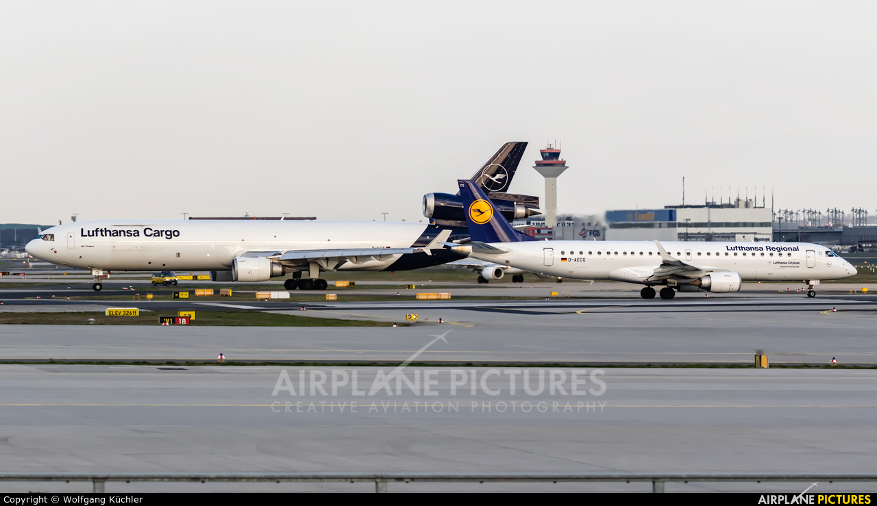 Lufthansa Regional - CityLine D-AECG aircraft at Frankfurt