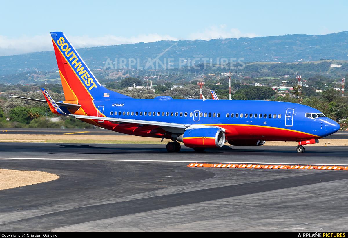 Southwest Airlines N7814B aircraft at San Jose - Juan Santamaría Intl