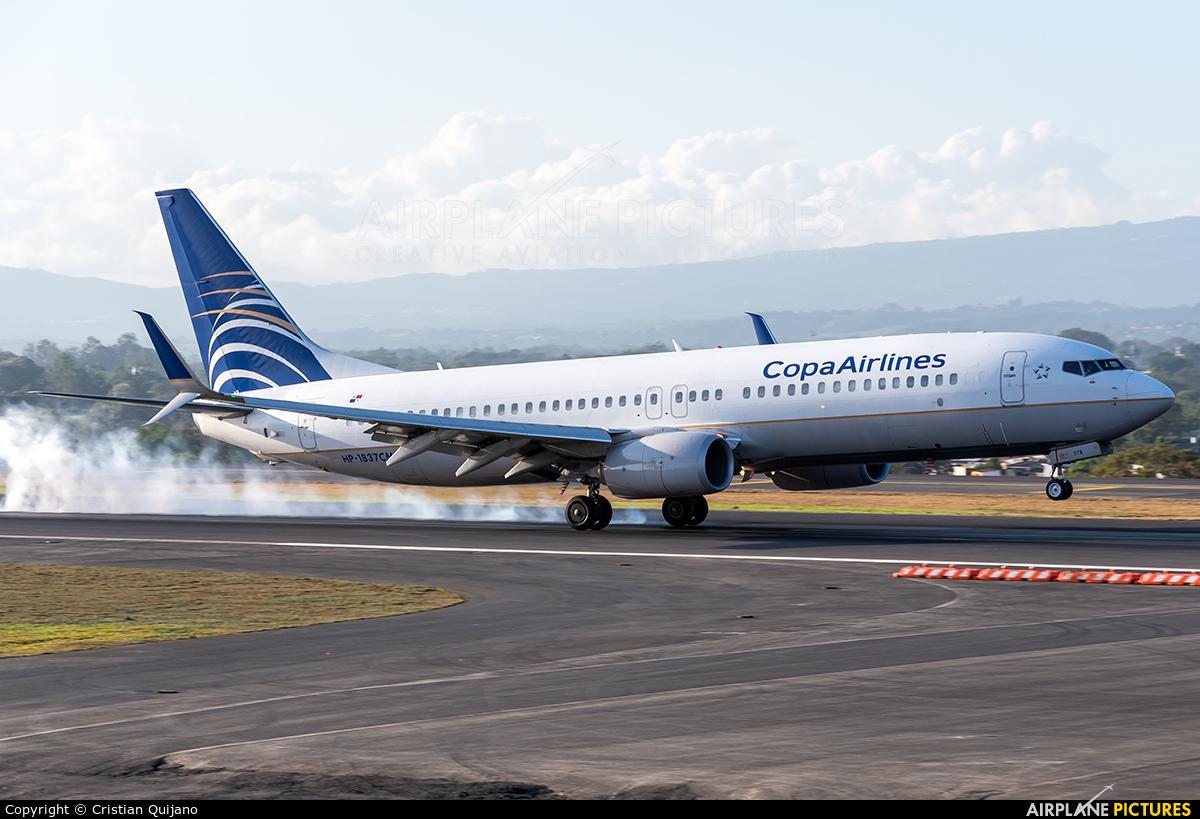 Copa Airlines HP-1837CMP aircraft at San Jose - Juan Santamaría Intl