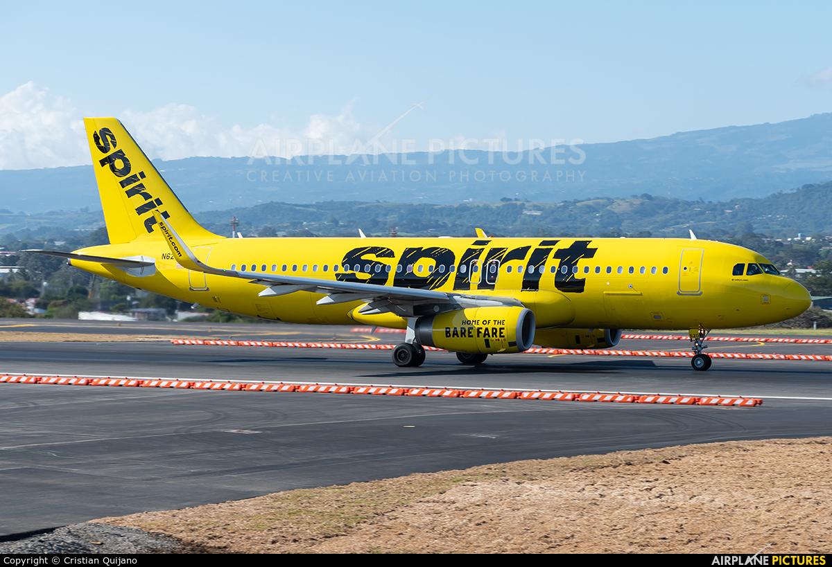 Spirit Airlines N620NK aircraft at San Jose - Juan Santamaría Intl