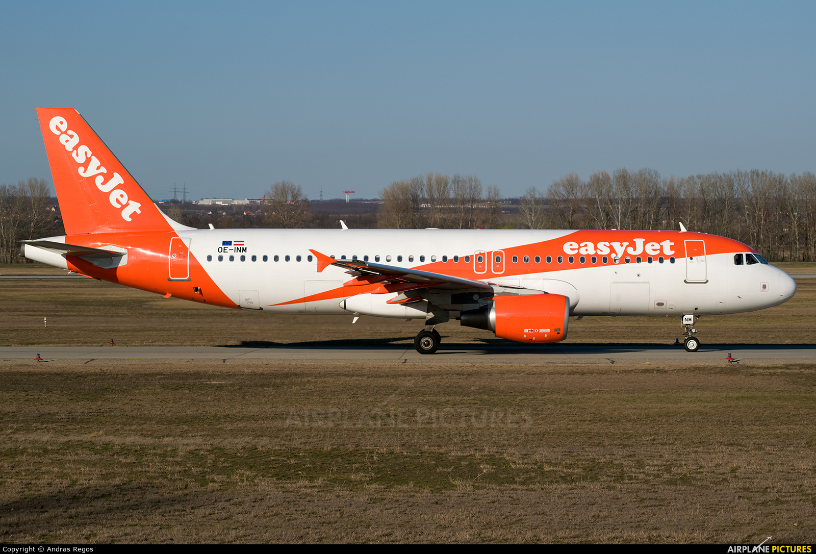 easyJet Europe OE-INM aircraft at Budapest Ferenc Liszt International Airport