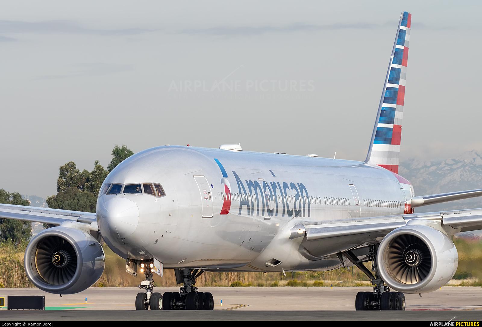 American Airlines N795AN aircraft at Barcelona - El Prat