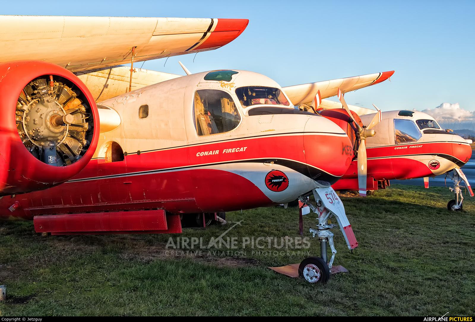 Conair C-FEFK aircraft at Abbotsford, BC