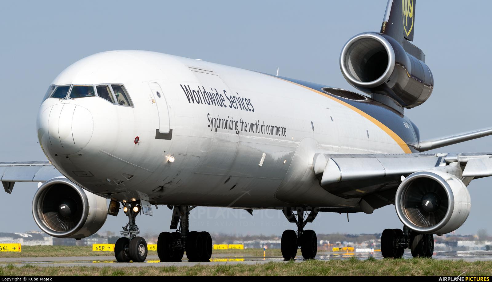 UPS - United Parcel Service N276UP aircraft at Warsaw - Frederic Chopin