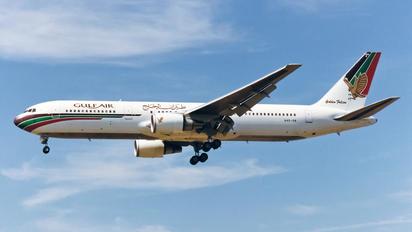 A40-GN - Gulf Air Boeing 767-300ER