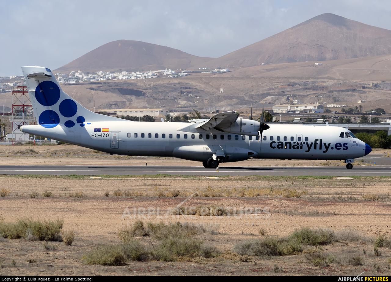 CanaryFly EC-IZO aircraft at Lanzarote - Arrecife