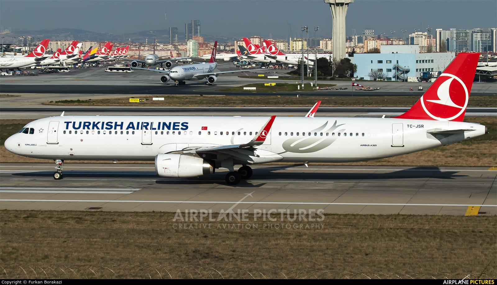 Turkish Airlines TC-JSR aircraft at Istanbul - Ataturk