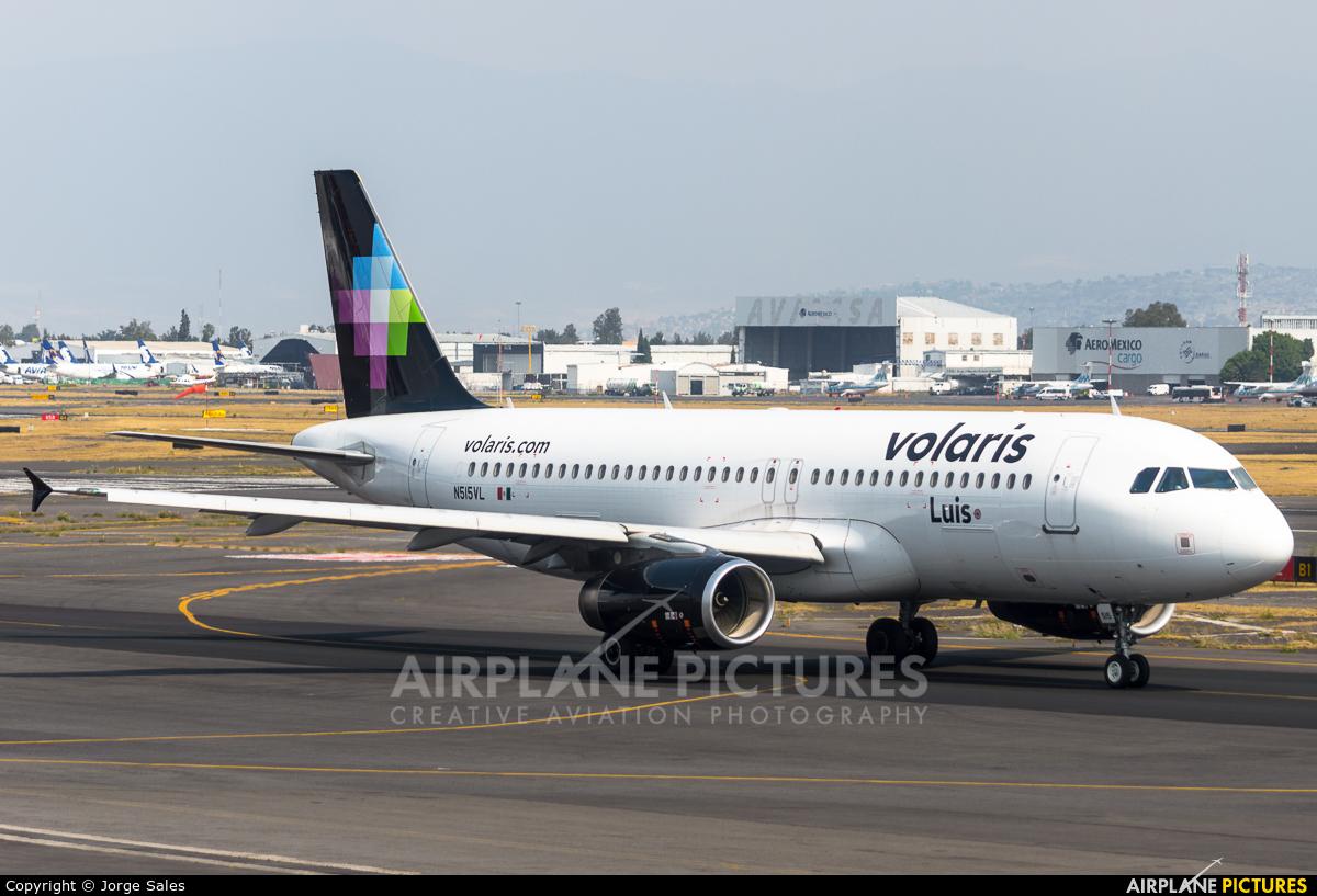 Volaris N515VL aircraft at Mexico City - Licenciado Benito Juarez Intl