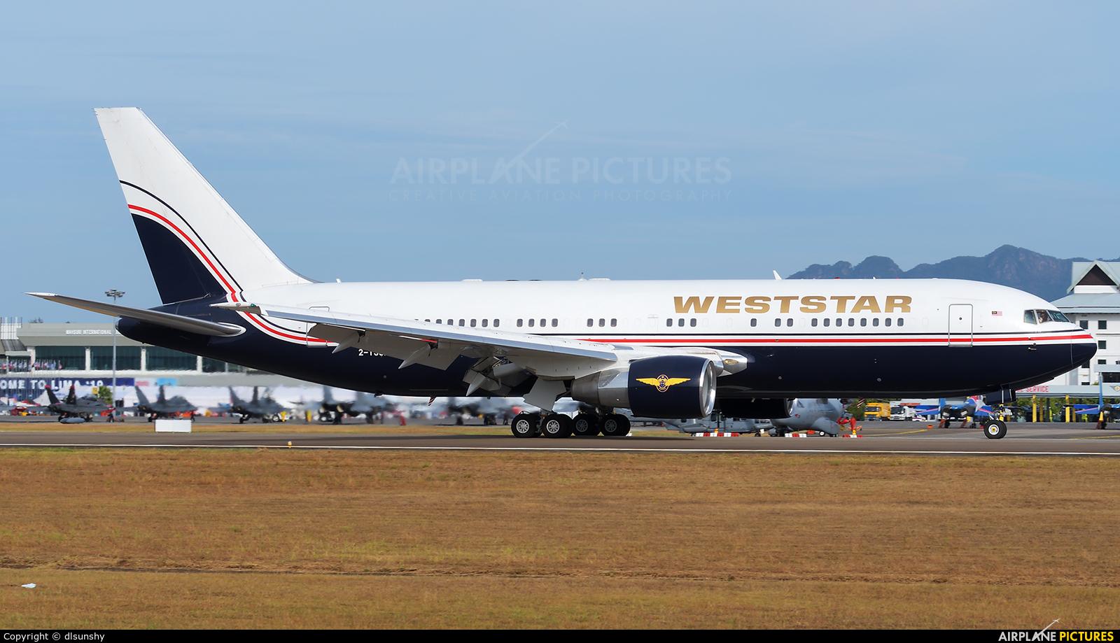 Weststar Aviation Services 2-TSSA aircraft at Langkawi