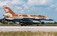 055 - Israel - Defence Force General Dynamics F-16D Barak aircraft