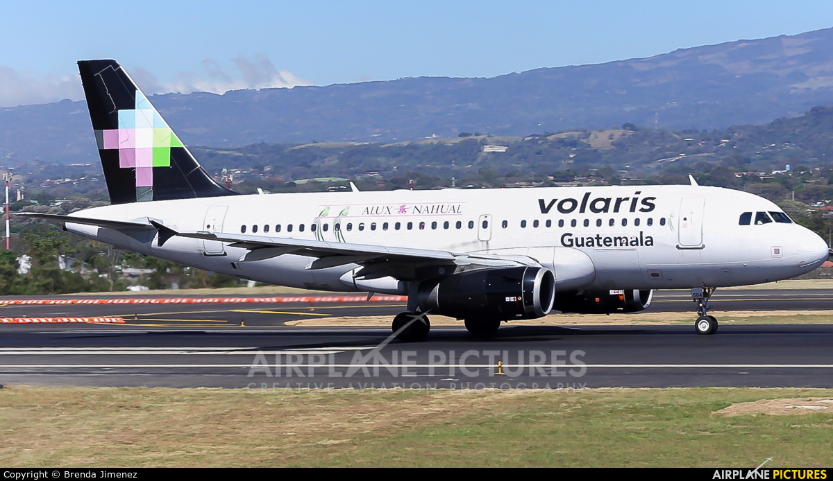 Volaris Costa Rica N504VL aircraft at San Jose - Juan Santamaría Intl