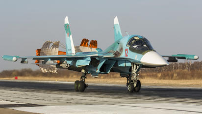 RF-81727 - Russia - Air Force Sukhoi Su-34