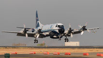 Rare visit of US Gov Lockheed WP-3D Orion to San Jose title=
