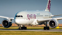 A7-BCD - Qatar Airways Boeing 787-8 Dreamliner aircraft