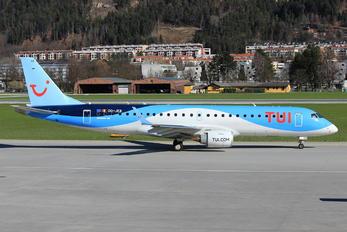OO-JEB - TUI Airlines Belgium Embraer ERJ-190 (190-100)