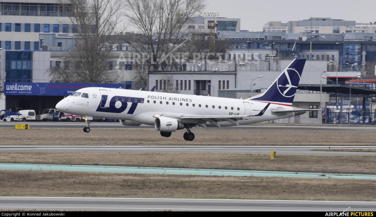 LOT - Polish Airlines SP-LIK aircraft at Warsaw - Frederic Chopin